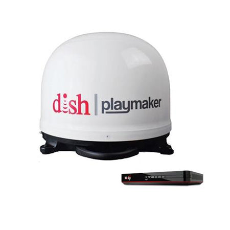 DISH Playmaker Satellite TV Antenna With Receiver