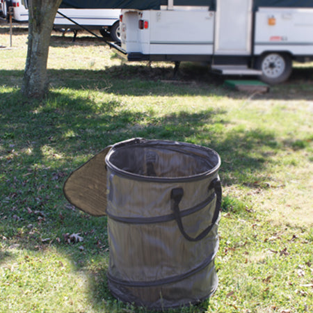 Collapsible Trash Can Coleman Pop Up Parts