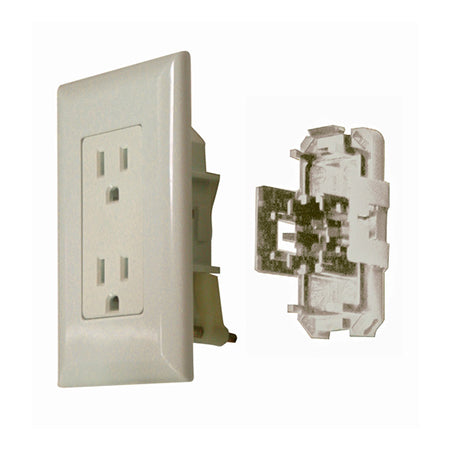 15 Amp Outlet Ivory