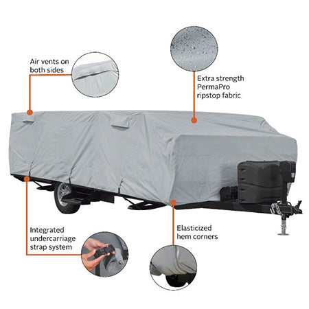 coleman fleetwood pop up camper cover