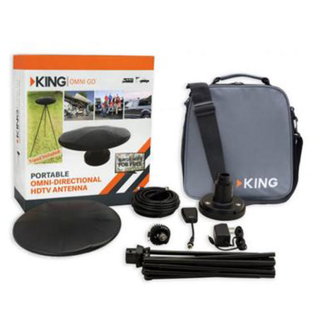 KING OA1501 OmniGo Portable Omnidirectional HDTV Over-the-Air Antenna