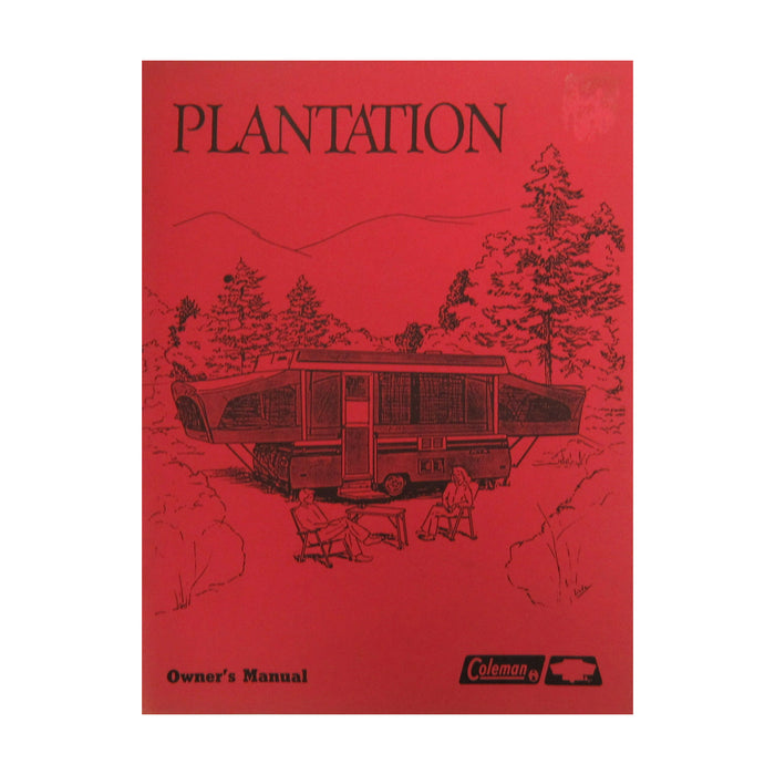 Owners Manual 1987 Plantation