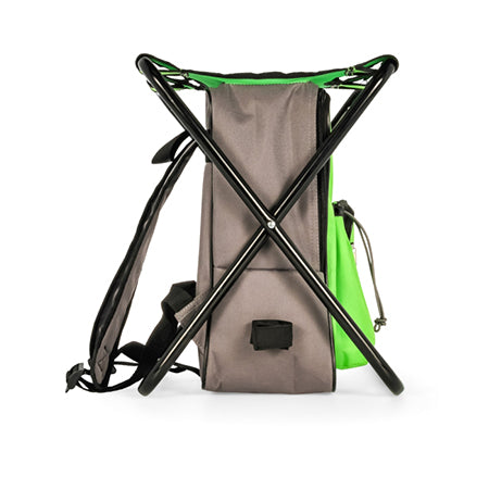 Camping Backpack/Cooler/Seat - Green