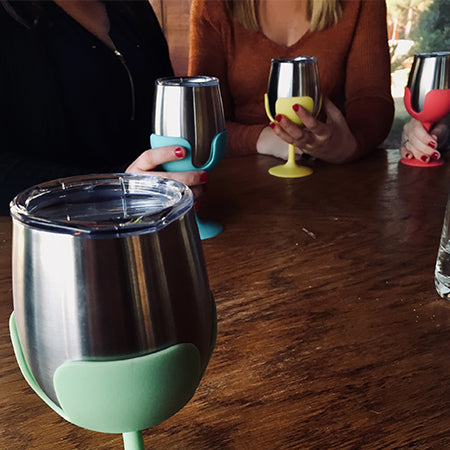 Life Is Better At The Campsite Wine Tumblers
