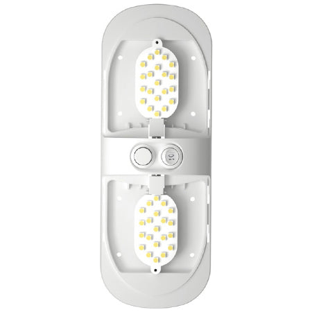 LED Dual Ceiling Light With Dimmer