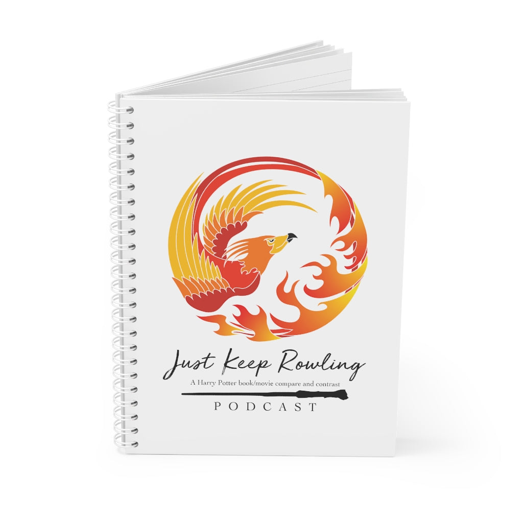 Just Keep Rowling Spiral Notebook