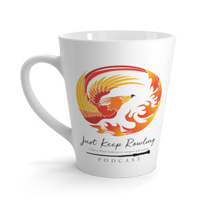 Just Keep Rowling Latte Mug