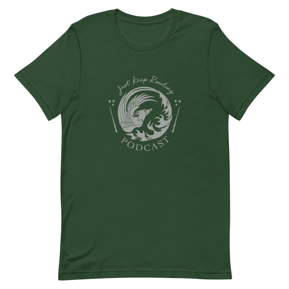 Green and Silver Just Keep Rowling T-Shirt