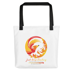 Just Keep Rowling Tote bag