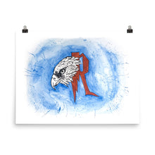 Load image into Gallery viewer, Eagle Watercolor Poster