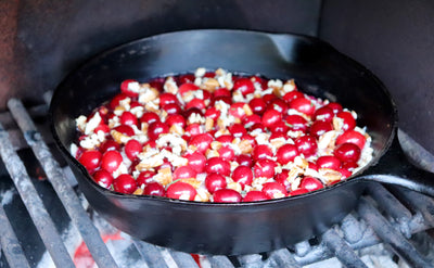 Wood Fired Cranberry Skillet Dip