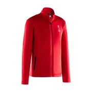 Cowes Full Zip Sweatshirt  - Red