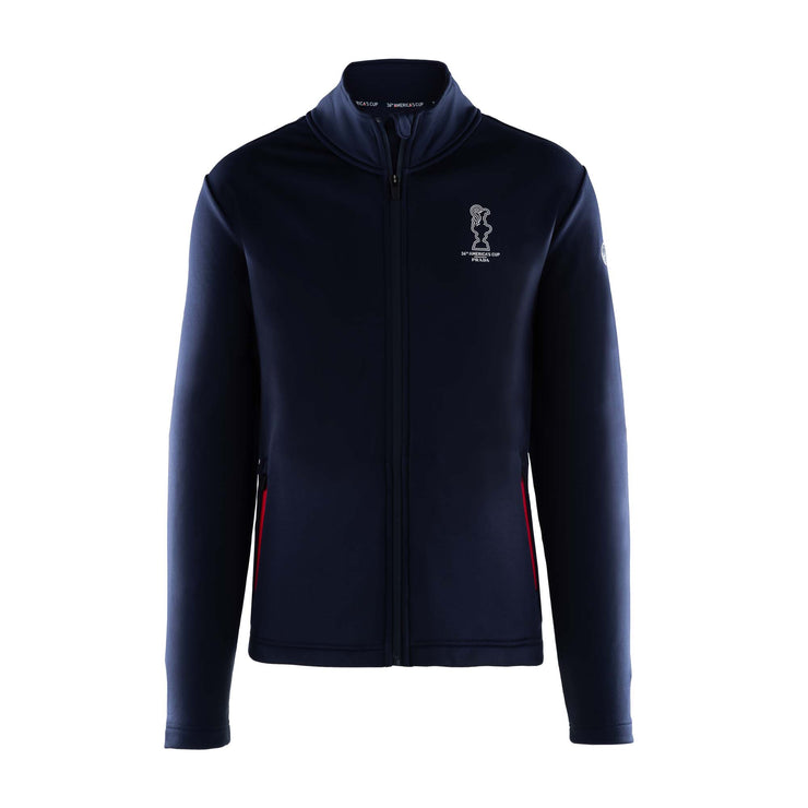 Cowes Full Zip Sweatshirt - Navy
