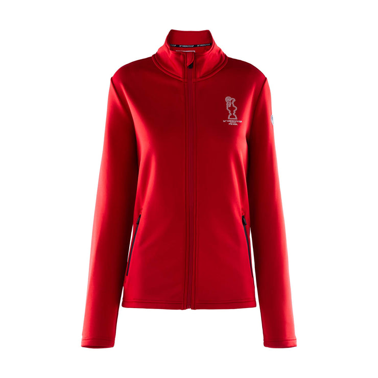 Women's Cowes Full Zip Sweatshirt - Red