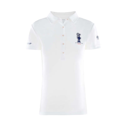 Women's Valencia Polo - White