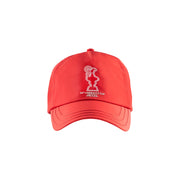 Graphic Baseball Cap - Red