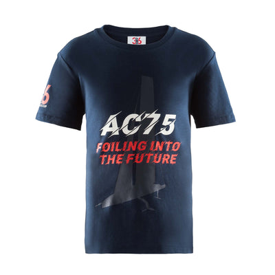 Kids' Future Foiling Tee - Navy