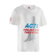 Kids' Future Foiling Tee - White