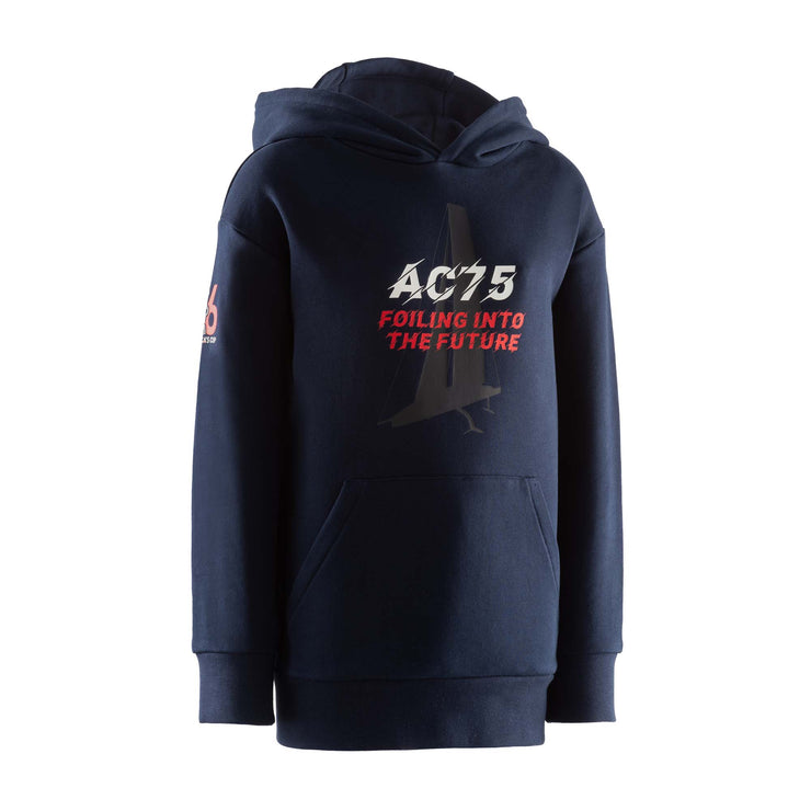 Kids' Future Foiling Hoodie - Navy