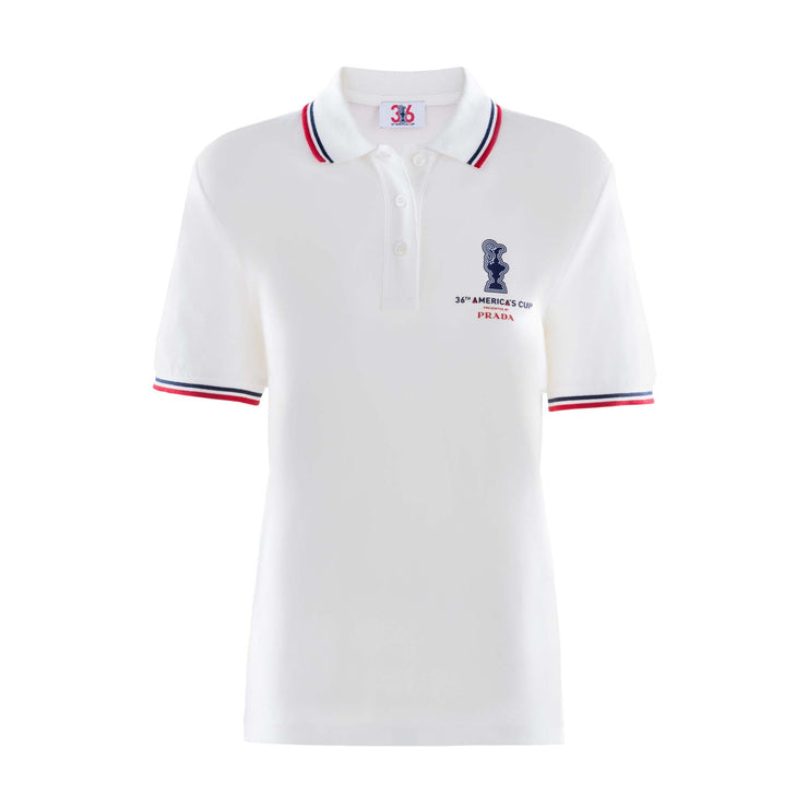 Women's America's Cup Polo - White