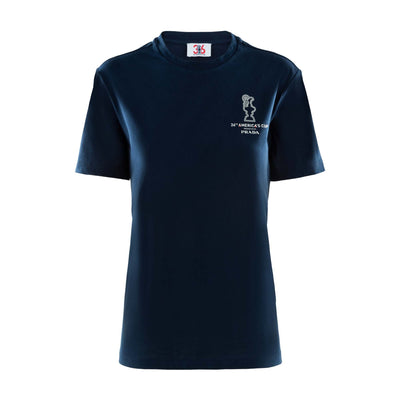 Womens's America's Cup Tee - Navy