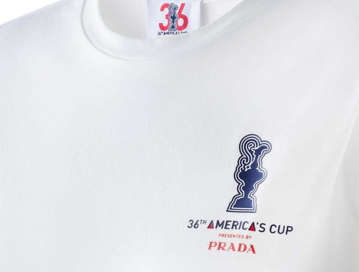 Women's America's Cup Tee - White