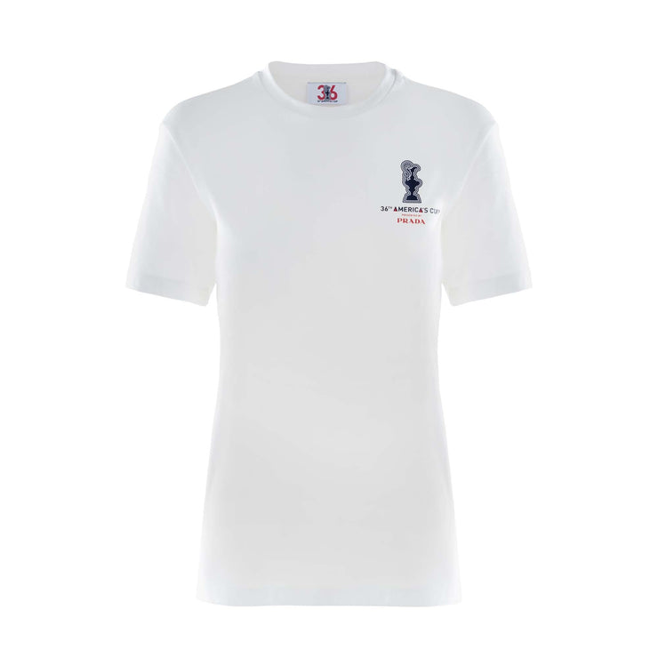 Womens's America's Cup Tee - White