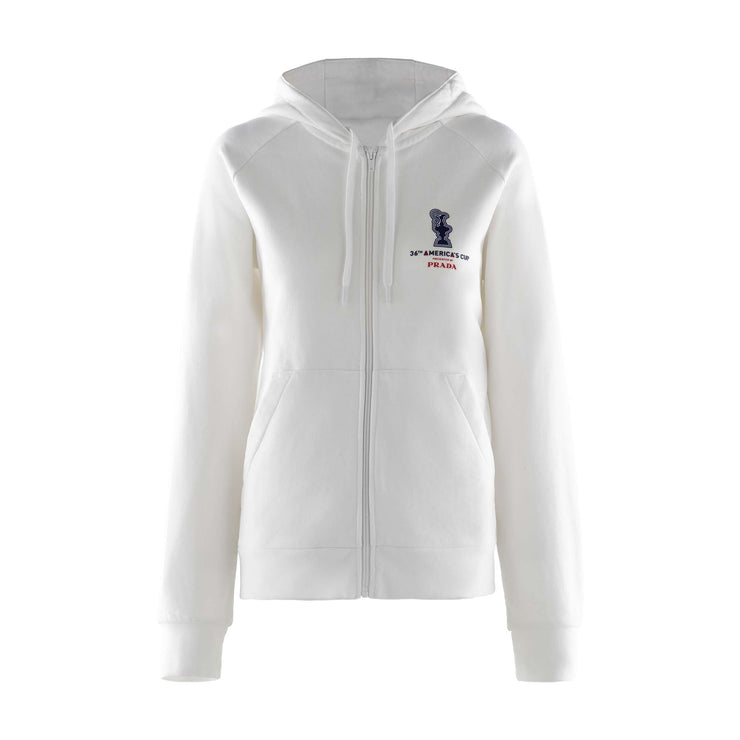 Women's America's Cup Hoodie - White