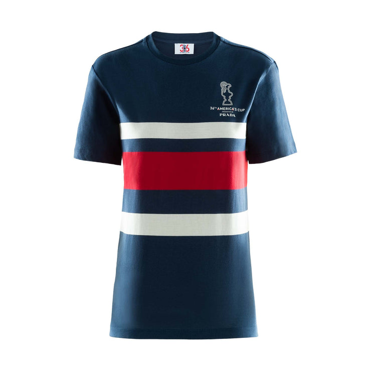 Women's Cup Stripe Top - Navy