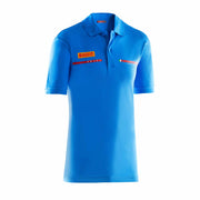 Kids' Foil Polo Shirt - Sky Blue