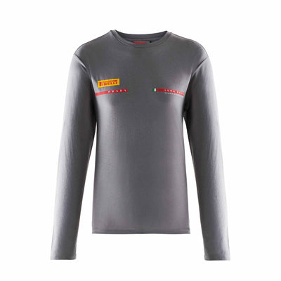 Icon Long Sleeve T-Shirt - Grey