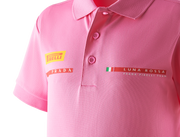 Kids' Foil Polo Shirt - Pink