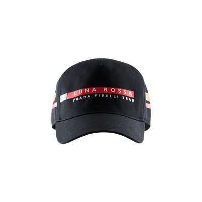 Luna Rossa Tricolore Cap - Black (Junior)