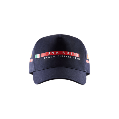 Luna Rossa Tricolore Cap - Navy (Junior)
