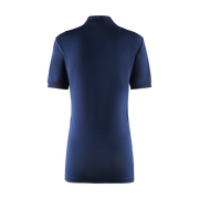 Women's Foil Polo Shirt - Navy