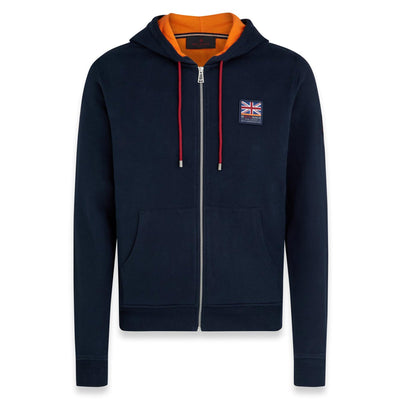 Ineos Team UK Britannia Zip Through Hoodie