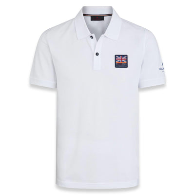 Ineos Team UK Britannia S/S Polo - White
