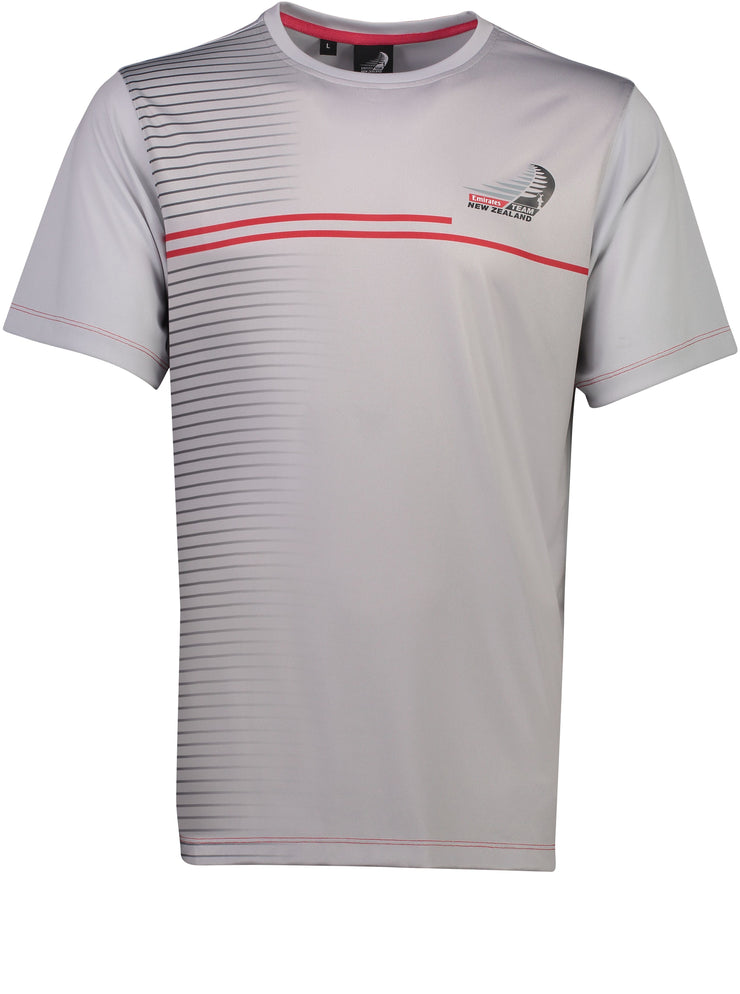 Trimmer T Shirt - Silver
