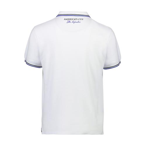 ETNZ Trophy Polo - White