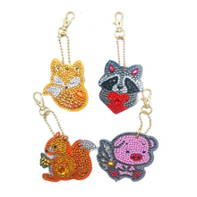 Load image into Gallery viewer, 2 - 4pk Animal Key Chains