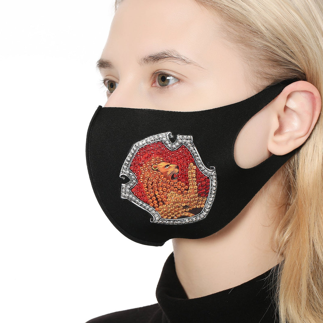 0022M Lion Face Mask