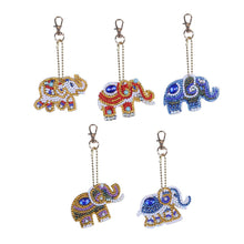 Load image into Gallery viewer, 29 - 5pk Elephants Key Chains