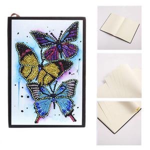 24 Butterfly Notebook