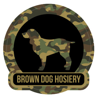 Beau Brown Dog Decal