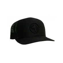 Brown Dog - 112 Richardson Black Trucker