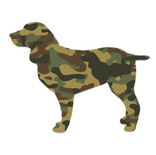 Camo Dog Decal