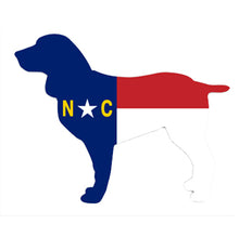 North Carolina Dog Decal