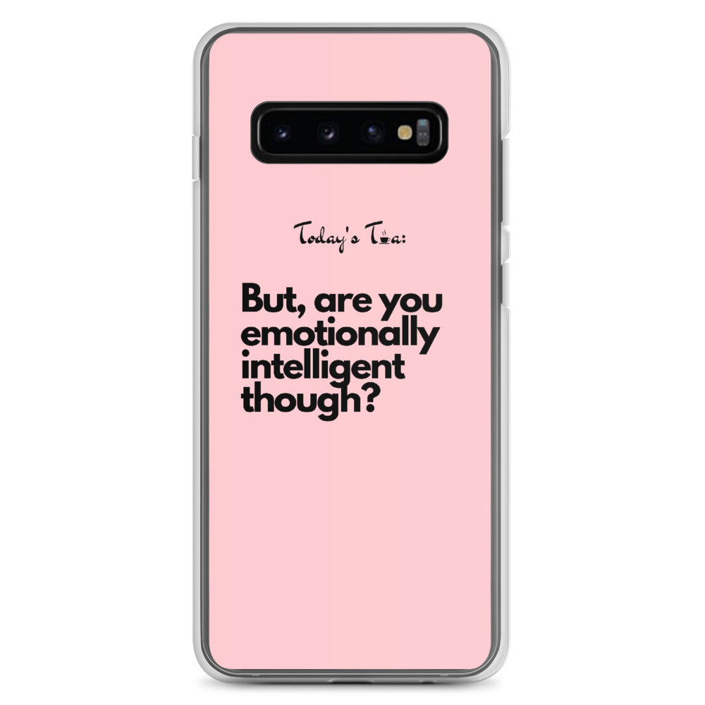 Emotionally Intelligent Tea: Pink Samsung Case