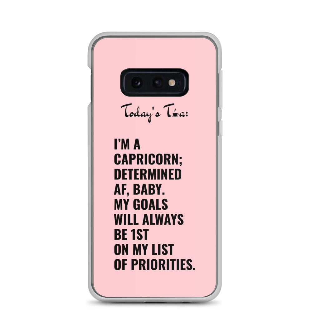 CAPRICORN TEA: Pink Samsung Case