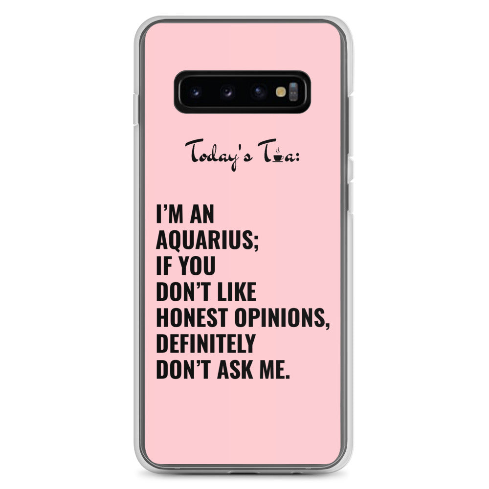 AQUARIUS TEA: Pink Samsung Case